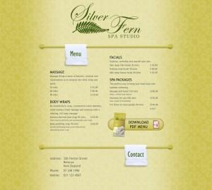Silverfern Spa Studio